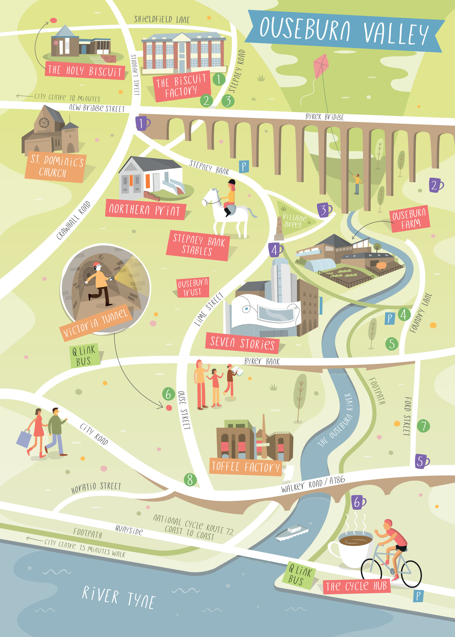 Ouseburn: A Creative Guide to a Creative Valley | Toffee Factory