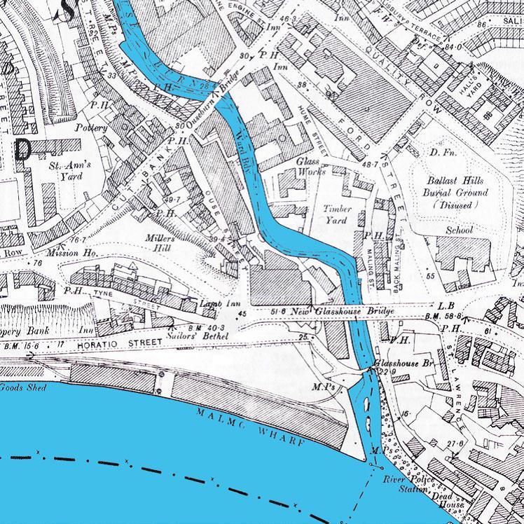 Ouseburn Map
