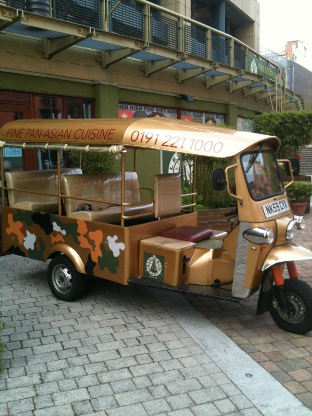 Electric East Truck