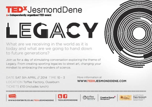 TEDx legacy flyer
